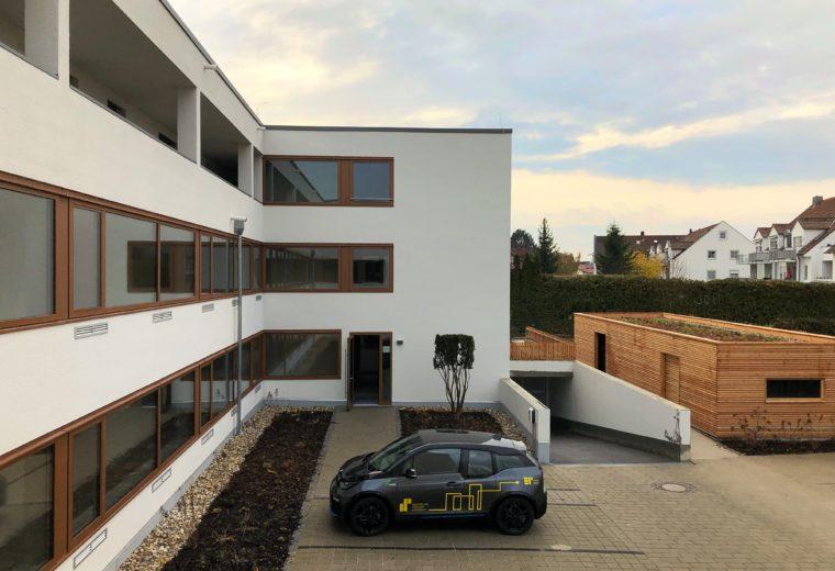 Wohnkonzept 50 + barrierefreie 2-Zi.-Wohnung mit Balkon in Ergolding – ERSTBEZUG