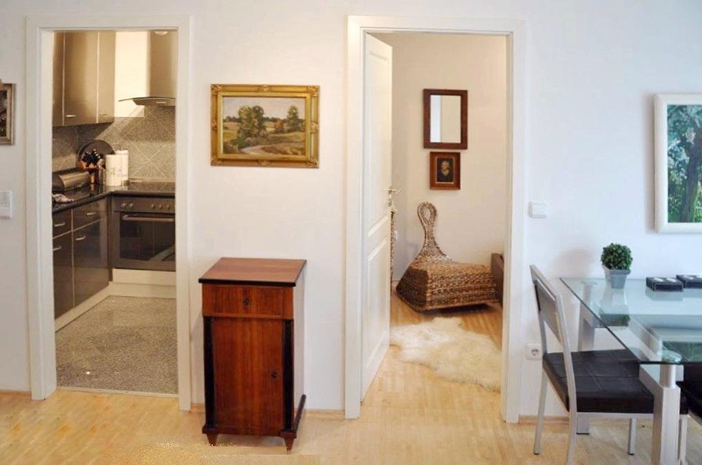 2-Zimmer-Wohnung mit Loggia und TG-Stelplatz, U-Bahn-Nähe in Harlaching-Untergiesing